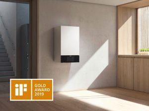 Renommierter IF Gold Design Award für neuen Viessmann Vitodens 300-W